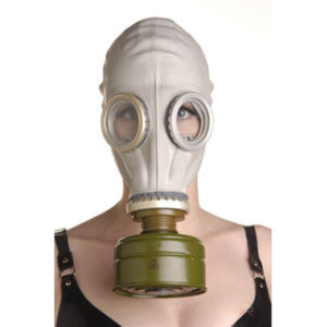 Rubber Gas Mask Hood