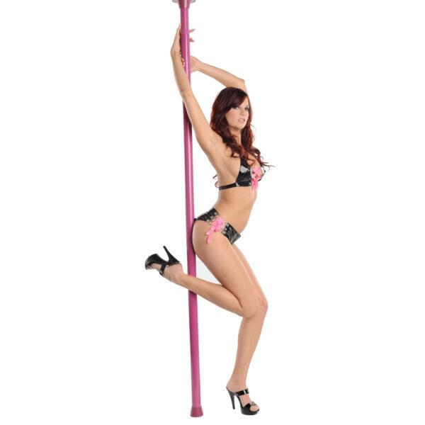 Pink Secret Dancer Pole with DVD