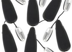 Vibrating Silver Bullets - Case of 144