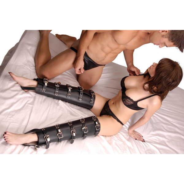 Strict Leather Leg Binders