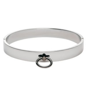 Chrome Slave Collar - SmallMedium