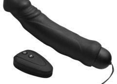 Ivan 10x Mode Remote Vibrating Silicone Dildo