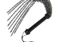 Gunmetal Chain Flogger