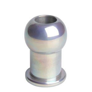 Hollow Aluminum Anal Plug- SM