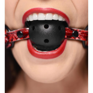Crimson Tied Breathable Ball Gag
