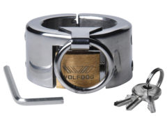 Fiend Stainless Steel CBT Piercing Chamber- 1.5 Inch