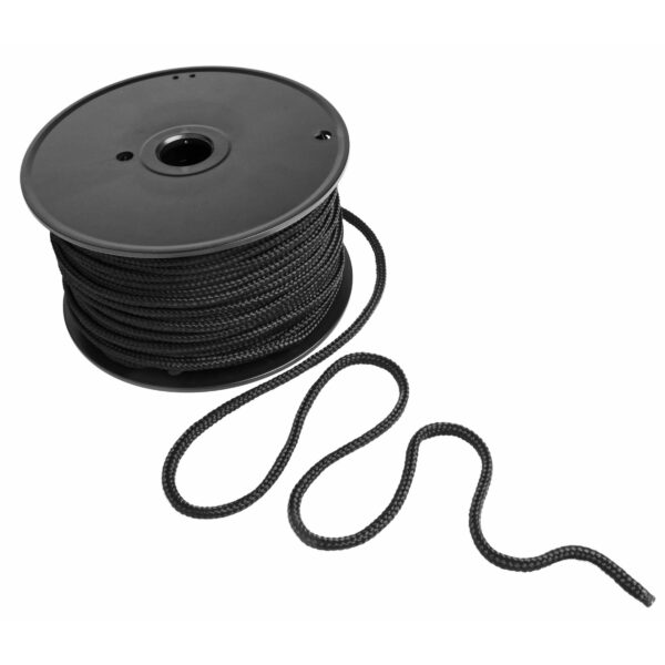 Black Bondage Rope- 200 Foot Spool