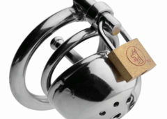 Solitary Plus Extreme Confinement Cage with Cum-Thru Plug