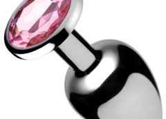 Pink Gem Anal Plug- Small