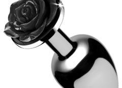 Black Rose Anal Plug- Small
