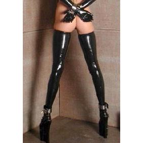 Latex Thigh-High Stockings- Medium
