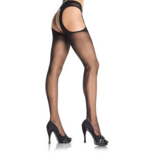 Sheer Suspender Pantyhose