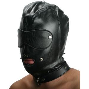 Strict Leather Premium Locking Slave Hood- Small