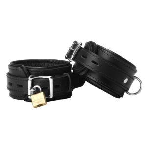 Strict Leather Premium Locking Wrist Cuffs