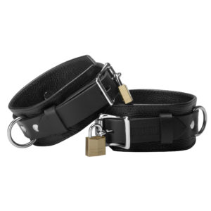 Strict Leather Deluxe Locking Wrist Cuffs