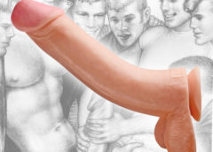 Tom of Finland Toms Cock 12 Inch Suction Cup Dildo