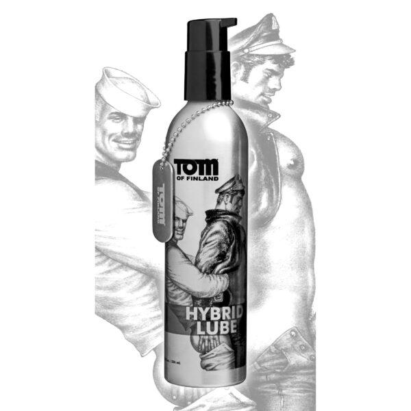 Tom of Finland Hybrid Lube- 8 oz