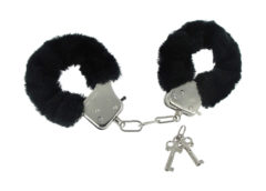 Caught in Candy Handcuffs - Black