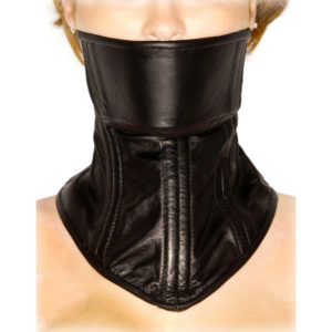 Strict Leather Neck Corset
