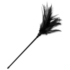 Le Plume Feather Tickler - Black