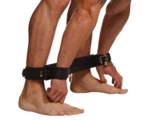 Strict Leather Easy Access Restraints System